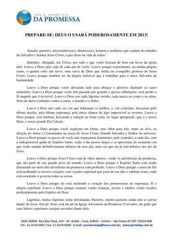 Clique aqui para ler a carta na íntegra. - Portal IAP