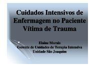 Cuidados Intensivos de Enfermagem no Trauma - ineti