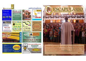 ESCAPULÁRIO - Santuário Nossa Senhora do Carmo