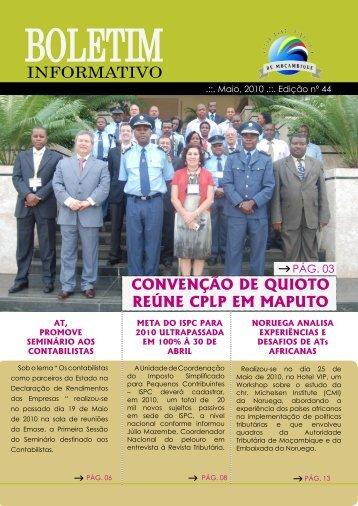 Edição 44 - Autoridade Tributária de Moçambique