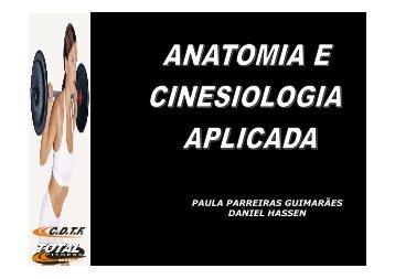 Anatomia e Cinesiologia aplicada