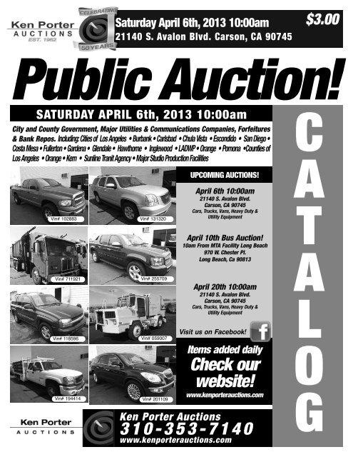 Auction Catalog (PDF)