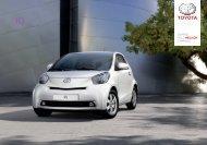 Toyota iQ Catálogo Online 2012