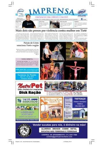 Paginas 1 a 8 - Jornal Imprensa dia 14 de abril.pmd