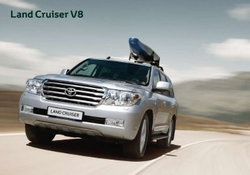 Toyota Land Cruiser V8 Catálogo Online 2011
