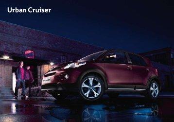 Toyota Urban Cruiser Catálogo Online 2011