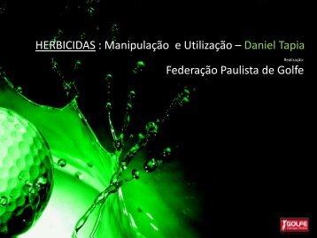HERBICIDAS - Federação Paulista de Golfe