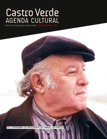 Agenda Cultural FEV MAR 2011 - Câmara Municipal de Castro Verde