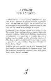 Preview de A Cidade dos Ladrões - Jambô Editora