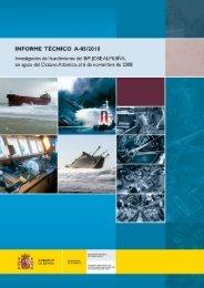 Informe Técnico A-05/2010 - Ministerio de Fomento