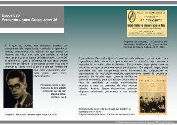 Roteiro - Museu da Música Portuguesa - Câmara Municipal de ...