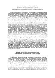 Gargalos do licenciamento ambiental brasileiro Aperfeiçoamento da ...