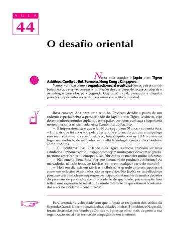 44. O desafio oriental - Passei.com.br
