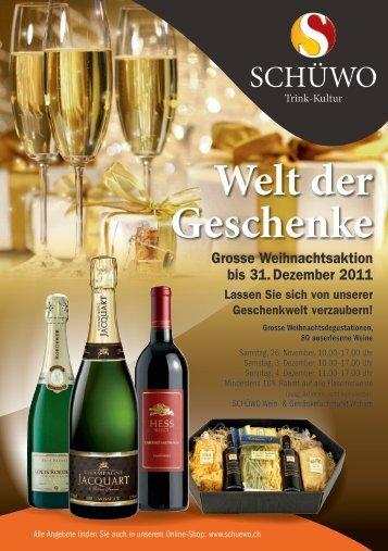 Welt der Geschenke - SCHÜWO Trink-Kultur