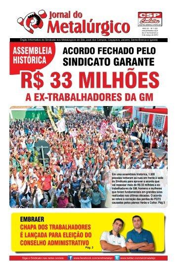 Versão em PDF - Sindicato dos Metalúrgicos de São José dos ...