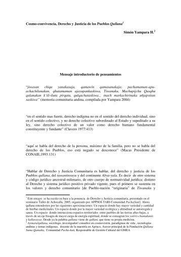 Documento completo… pase >> PDF - Katari