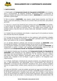 Regulamento do II Circuito ANQM de Vaquejada - Portal Do Equino