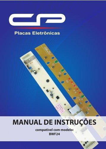 manual BWF24 - CP Placas Eletrônicas