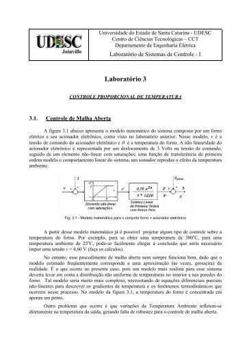 Laboratório 3 - UDESC Joinville