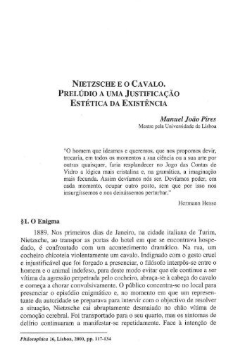 Manuel João Pires - Centro de Filosofia