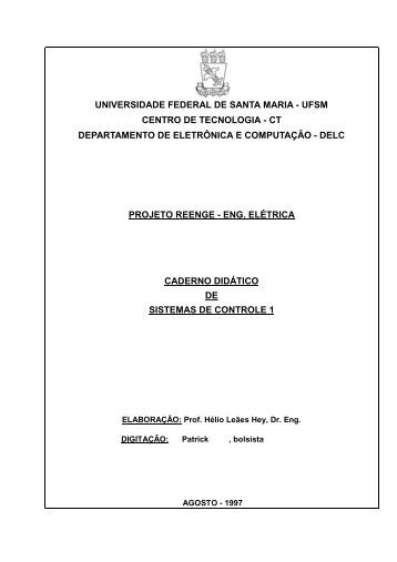 UNIVERSIDADE FEDERAL DE SANTA MARIA - UFSM CENTRO ...