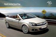 Prospekt Opel Astra Twin Top - Garage im Steiger AG