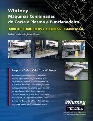 Faça o download do catálogo Whitney em PDF - Oxipira