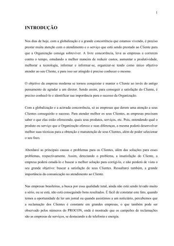 INTRODUÇÃO - AVM Faculdade Integrada