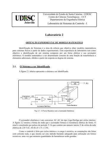 Laboratório 2 - UDESC Joinville