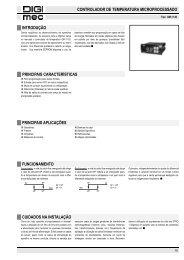 controlador de temperatura microprocessado principais aplicações ...