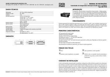 manual de instruções introdução funcionamento principais ...