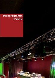 Mietprogramm 1/2010 - X-Light Eventtechnik