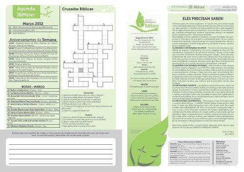 boletim 11-03-2012.pdf - Igreja Batista do Méier