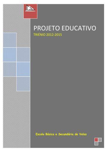 Projeto Educativo - Secretaria Regional da Educação, Ciência e ...