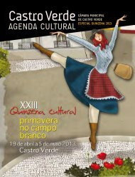 xxiii Quinzena Cultural - Câmara Municipal de Castro Verde