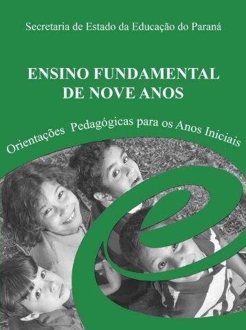 Orientações Pedagógicas - NRE - Estado do Paraná