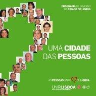 uma CIdade de BaIRRoS - Cidadãos por Lisboa