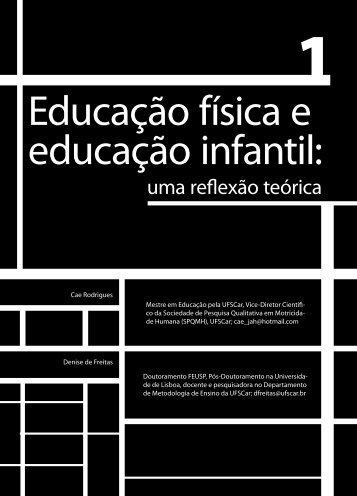 Educação física e educação infantil: - Faculdade Social