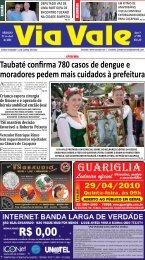 Taubaté confirma 780 casos de dengue e moradores ... - Via Vale