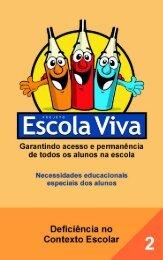 Deficiência no contexto escolar - Ministério da Educação