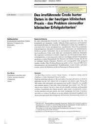 Free Display Copy – for personal use only - Stiftung Paracelsus heute