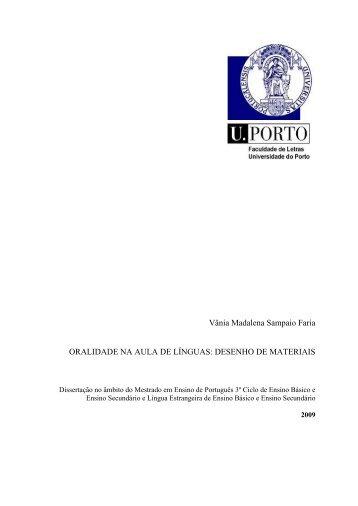 Oralidade na aula de línguas: desenho de materiais - Repositório ...