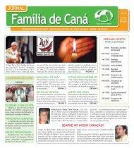 Jornal Família de Caná - Fevereiro de 2013