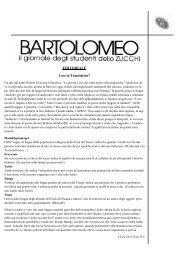 N° 2 novembre 2010 - Liceo Classico B. Zucchi