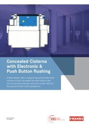 41936 Concealed Electronic Cisterns Lft
