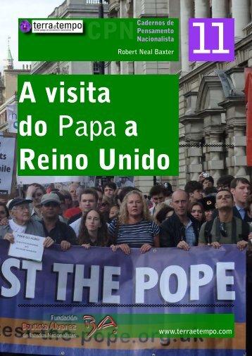 A visita do Papa a Reino Unido. ROBERT - Terra e Tempo