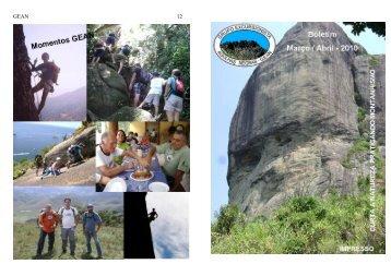 Março e Abril - Grupo Excursionista Agulhas Negras
