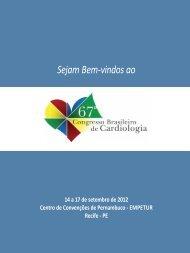 informações Gerais - 66 Congresso Brasileiro de Cardiologia ...