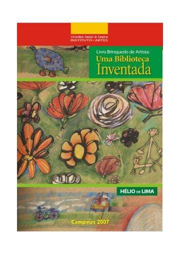 Livro brinquedo de artista: uma biblioteca inventada - NUPEA