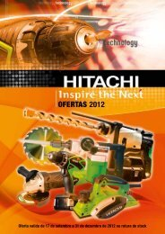 OFERTAS 2012 - Hitachi Power Tools Ibérica